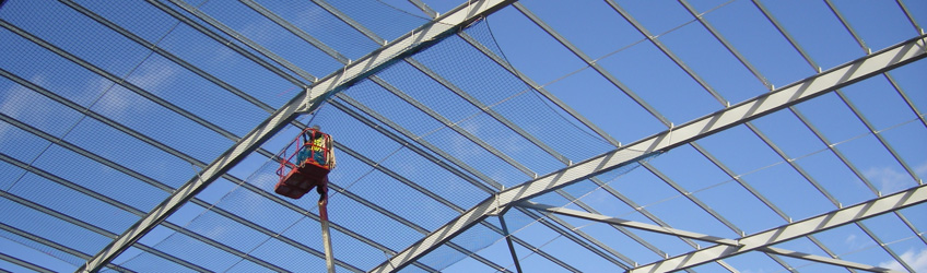 Pest Netting, Facility Maintenance from Safety Net Protection Systems, Safety Netting Ireland.