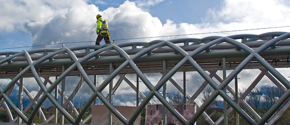 Permanent Fall Protection Systems from Safety Net Protection Systems